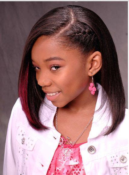 ideas for african american teen short cuts 17 best images about little girl hairstyles on pinterest