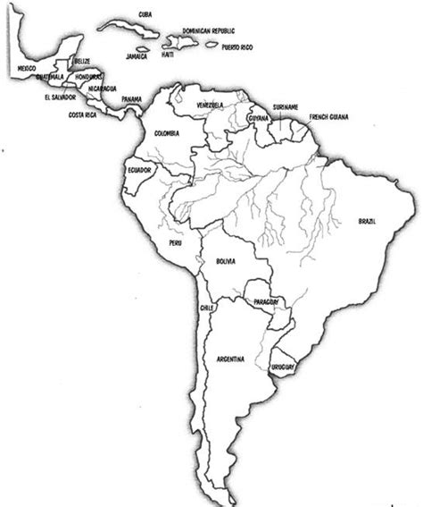 coloring page map of south america world civilizations ii 208 his 106