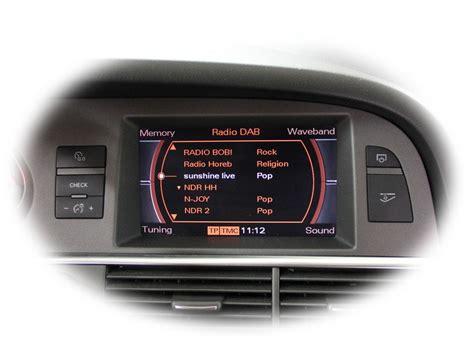Audi A6 Mmi Version by Fistune 174 Dab Integration For Audi Mmi 2g