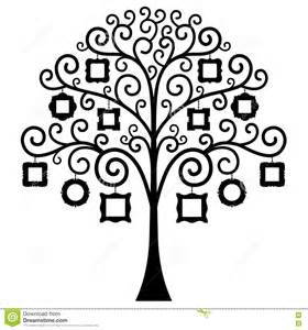 interactive family tree template vector family tree template stock vector image 76657996