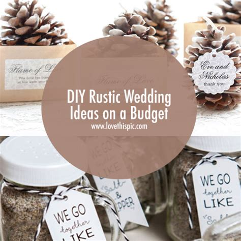 rustic weddings on a budget diy rustic wedding ideas on a budget