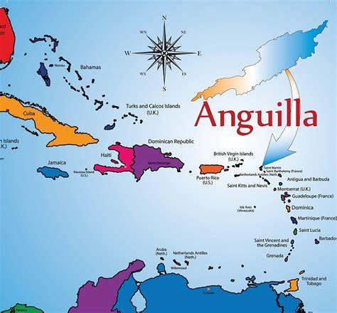 anguilla map where is anguilla anguilla caribbean anguilla location and map