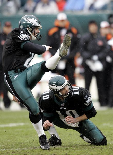 Kickers Blade going toe to toe eagles patriots possess 2 of the best