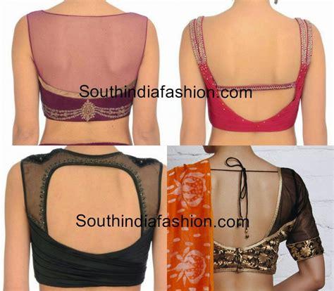 designs for blouse back neck designs