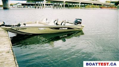 lowe fish and ski boat reviews 2006 lowe lowe stinger 180w bass boat boat test review