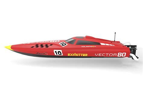 vector 80 rc boat volantex vector 80 brushless boat ready set red