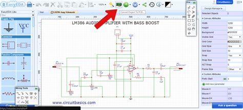 pcb layout design basics convert circuit diagram into pcb layout circuit and