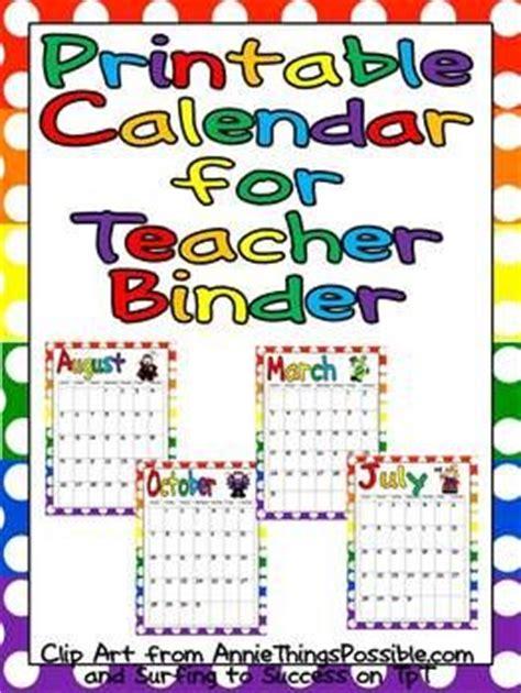 printable lesson plan binder lesson plan binder calendar and lesson plans on pinterest