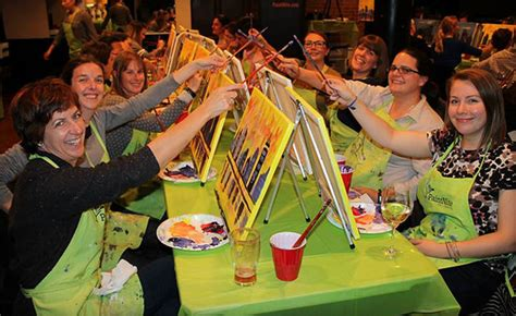 paint nite lethbridge wagjag 25 for admission to a 2 hour paint event a