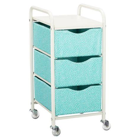 bathroom storage cart mini dot ready to roll storage ready to roll storage cart from pbteen dorm room