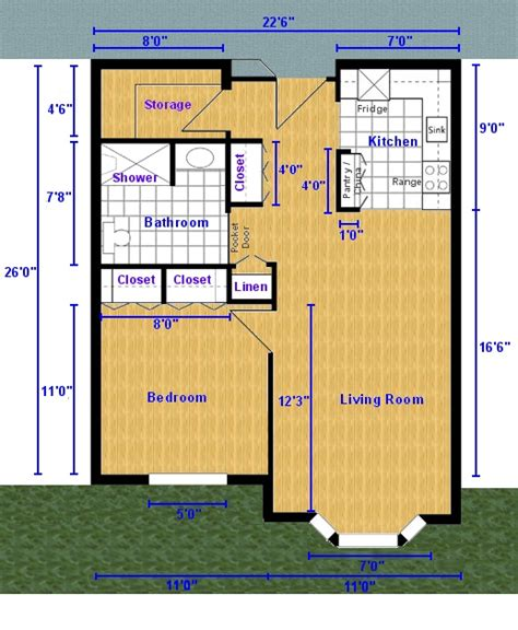 1 bedroom efficiency one bedroom apartment floor plan 1 bedroom efficiency