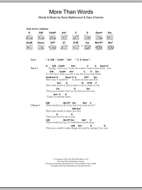 tutorial guitar more than words more than words by westlife guitar chords lyrics