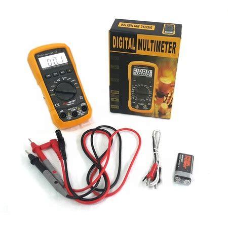 peakmeter ms  isikli autorange dijital multimetre