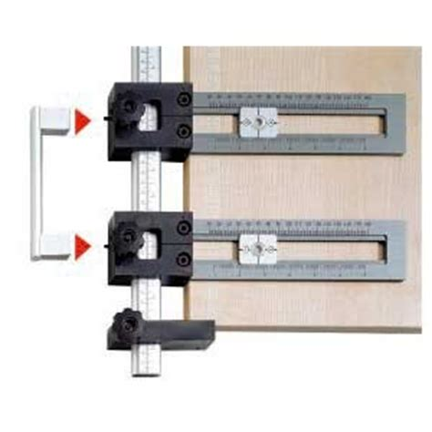 cabinet door handle jig better pull knob drilling jig woodweb s cabinet and