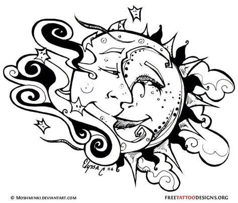 tribal moon tattoo meaning best 25 sun designs ideas on faces of