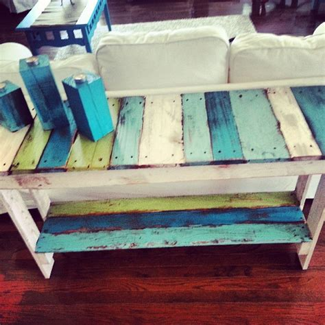 Sofa Table Diy Pallet Bucket List Publications Pallet Sofa Table