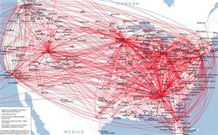 an analysis of delta route maps networks course for