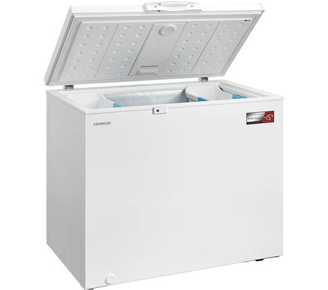 Home Freezer buy kenwood k250cfw17 chest freezer white free