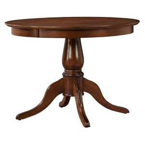 clifton 42 in pedestal dining table mahogany at