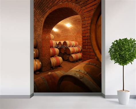 easy wall murals wine vault wallpaper wall mural wallsauce