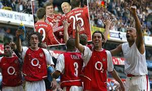 arsenal unbeaten record invincibles vs unbeatables as brilliant bayern munich hit