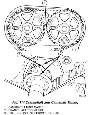 2005 Dodge Stratus Timing Chain Repair Manual Where