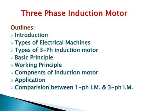 3 phase induction generator ppt application of 3 phase induction generator 28 images 380v 0 75kw 375kw induction motor