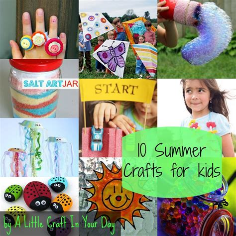 kid summer crafts kid friendly summer crafts a craft in your day