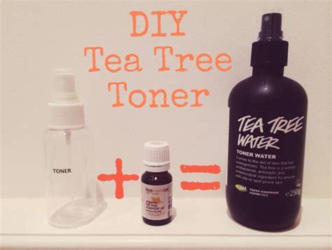diy setting spray with tea tree diy tea tree toner all dolled up