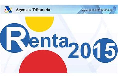 ministerio de hacienda renta 2015 la moncloa 06 04 2016 m 225 s de 15 200 000 contribuyentes