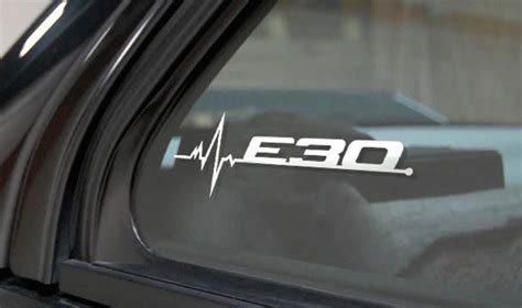 Bmw E30 Aufkleber by Product Bmw E30 Is In My Blood Window Sticker Decals Graphic