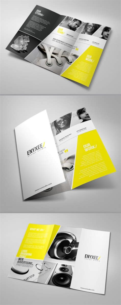 unique design leaflet tri fold brochure design ideas webdesignerdrops