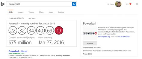 Mexico Phone Lookup Adds Lottery Powerball Numbers To Search Results