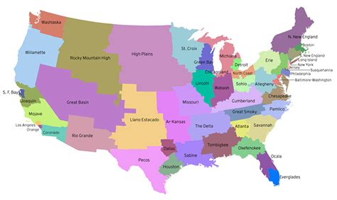 us map divided by population robs webstek fifty states with equal population
