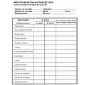 Buenas Pr&225cticas Preventivas En El Uso De Carretillas Elevadoras