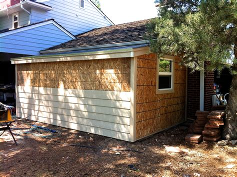 Shed Siding Materials by How To Build A Storage Shed Attached To Your Home Jim