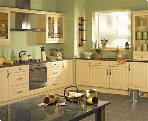 grey cabinets green walls kitchen pinterest ivory cabinets gray floors and countertop with green
