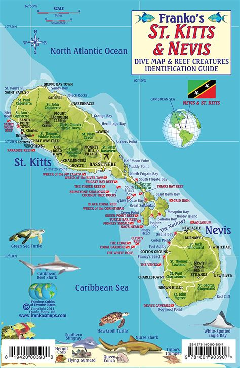map of st map of st kitts my