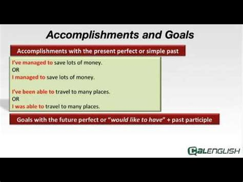 Accomplishments And Goals Youtube Goals And Accomplishments Template
