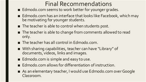 edmodo vs google classroom 2017 google classroom vs edmodo