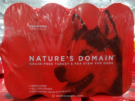 nature s domain puppy food nature s domain turkey and pea stew food