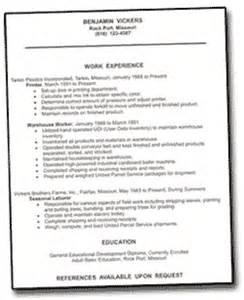 resume guide missouri business development program