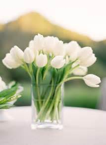 Rectangular Glass Vase White Tulips In Vase Pictures Photos And Images For