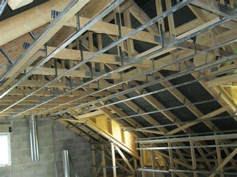 Ossature Placo Plafond by Le Placo Maisons Clair Logis Notre Constructeur En Is 232 Re 38