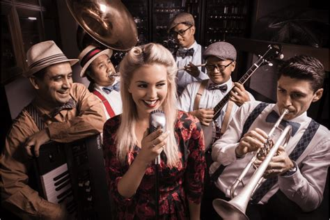 swing bands swing revue jazz swing band dubai bands