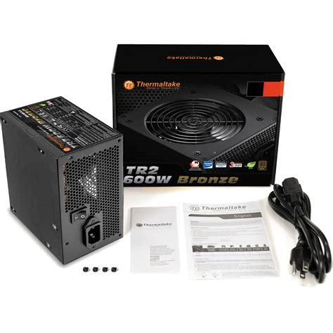 Power Supply Thermaltake Tr2 S 600watt thermaltake tr2 600w bronze power supply ps tr2 0600npcbus b b h