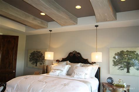 Master Bedroom Pendant Lights by My Home On Virginia