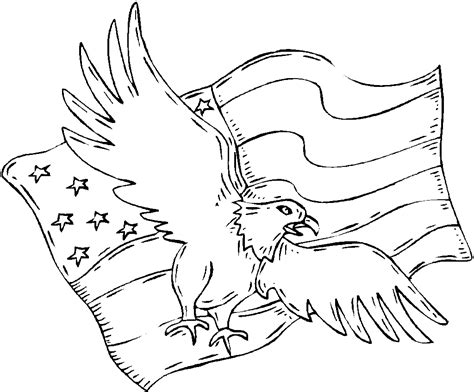 coloring pages bald eagle and us flag free printable bald eagle coloring pages for kids