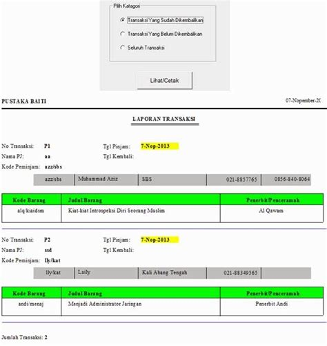 contoh laporan visual contoh laporan visual basic 6 0 gontoh
