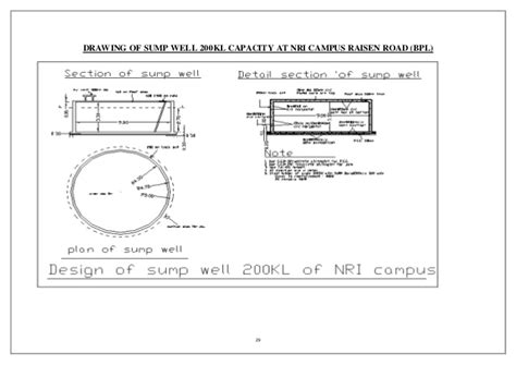 House Building Estimate Under Ground Water Tank Design Including Estimation And